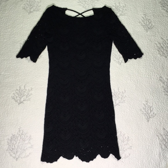 Nightcap Dresses & Skirts - Anthropologie backless lace dress size 2